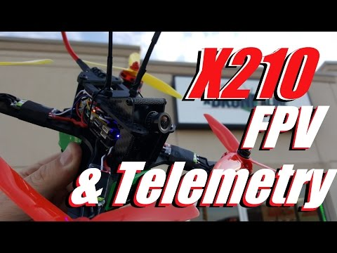Add FPV & Telemetry to the X210 Drone Racing Kit (2/2)