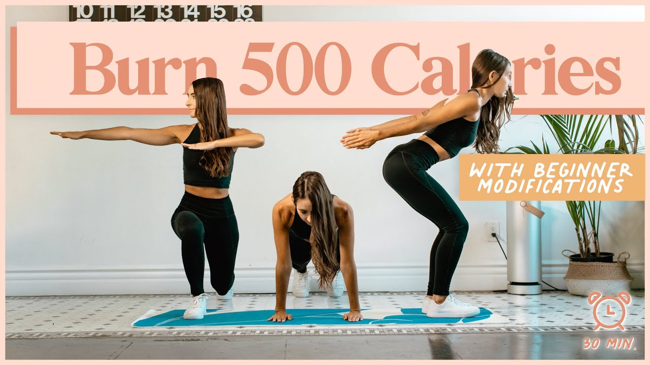 Download BURN 500 CALORIES with this 30-Minute Cardio Workout!