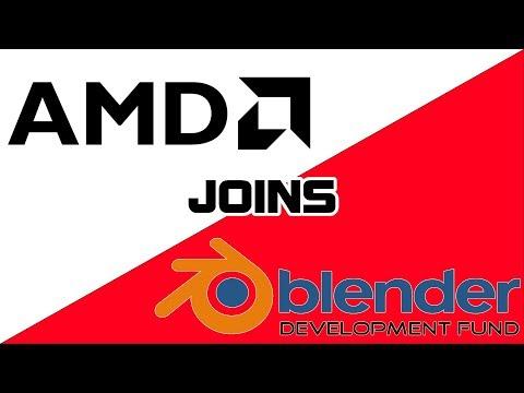Blender's HUGE New Patron... AMD!
