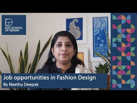 Neethu Deepak   Job Opportunities In Fashion Design   DOT School Of Design   Chennai