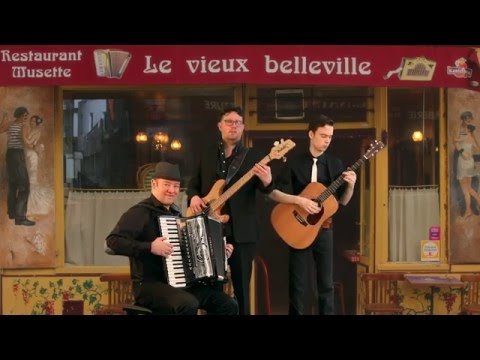 INDIFFERENCE, French Accordion Jazz Musette Music, Huib Hölzken, Tim, Bob, Akkordeon Victoria