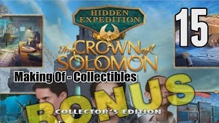 Hidden Expedition 7: The Crown of Solomon CE [15] w/YourGibs, Arglefumph - MAKING OF - COLLECTIBLES