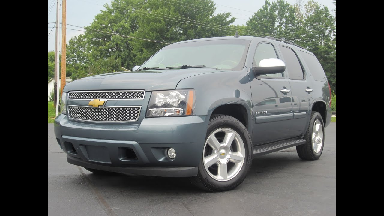 2008 Chevy Tahoe Ltz 4x4 Fully Loaded Every Option Sold