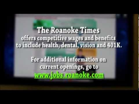 Working at The Roanoke Times