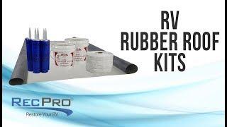 Dicor RV Rubber Roof Kit