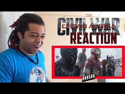 Marvel's Captain America: Civil War - Big Game Spot - REACTION