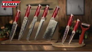 Набор из 5 ножей + 3 в подарок Банзай. leomax.ru