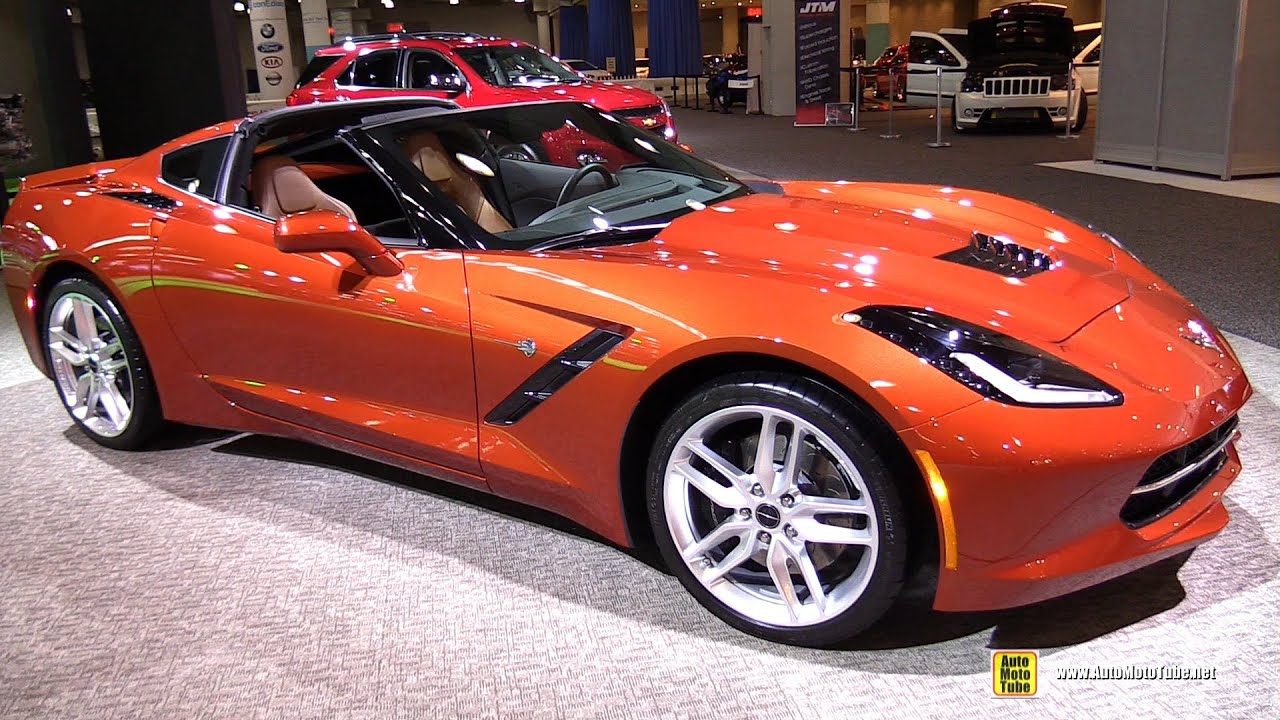 2015 Chevrolet Corvette Stingray   Exterior And Interior Walkaround   2015  New York Auto Show   YouTube