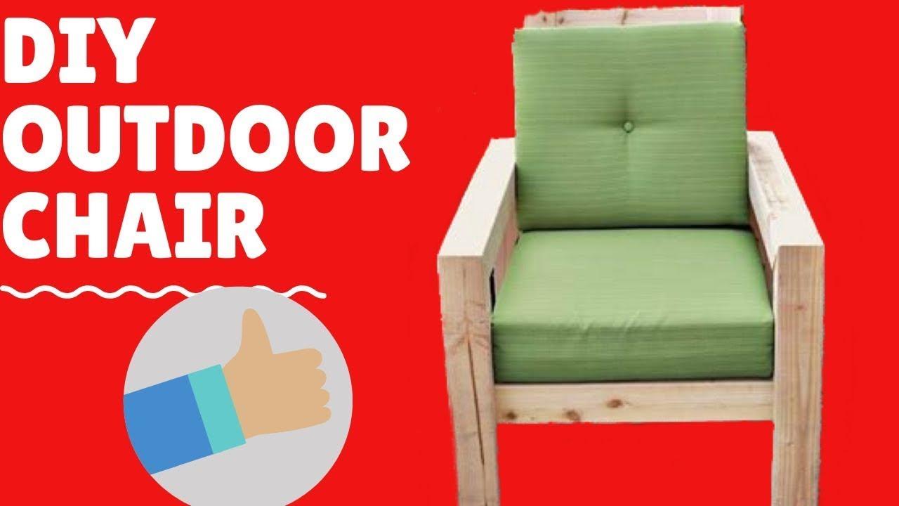 SUPER BRILLIANT IDEA IN DIY OUTDOOR 🪑 CHAIR (complete tutorial)