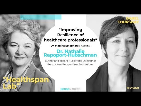 Babel Wednesday. Healthspan Lab with Dr. Madina Estephan and Dr. Nathalie Rapoport-Hubschman