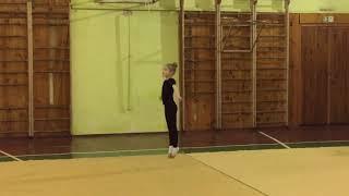 Художественная гимнастика скакалка
