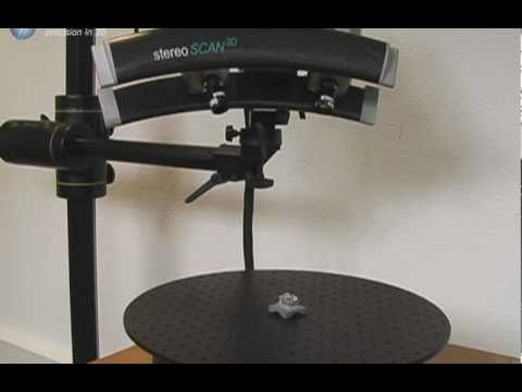 White Light Scanner: stereoSCAN 3D-HE with Turntable from Breuckmann