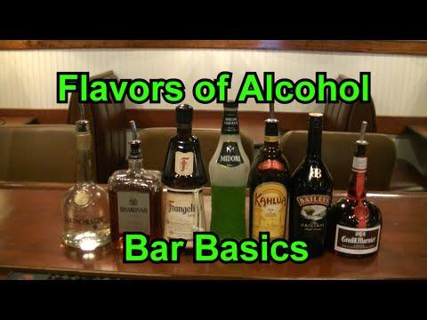 Bar Basics The Flavors Of Alcohol Flavor of Liquor Liqueur & Schnapps