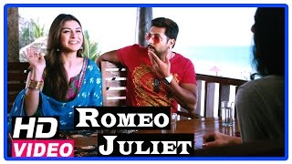 Romeo Juliet Tamil Movie | Scenes | Jayam Ravi and Hansika meets a girl for him