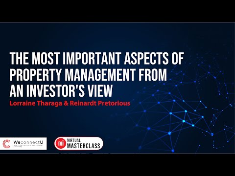 The Most Important Aspects of Property Management from an Investor's View