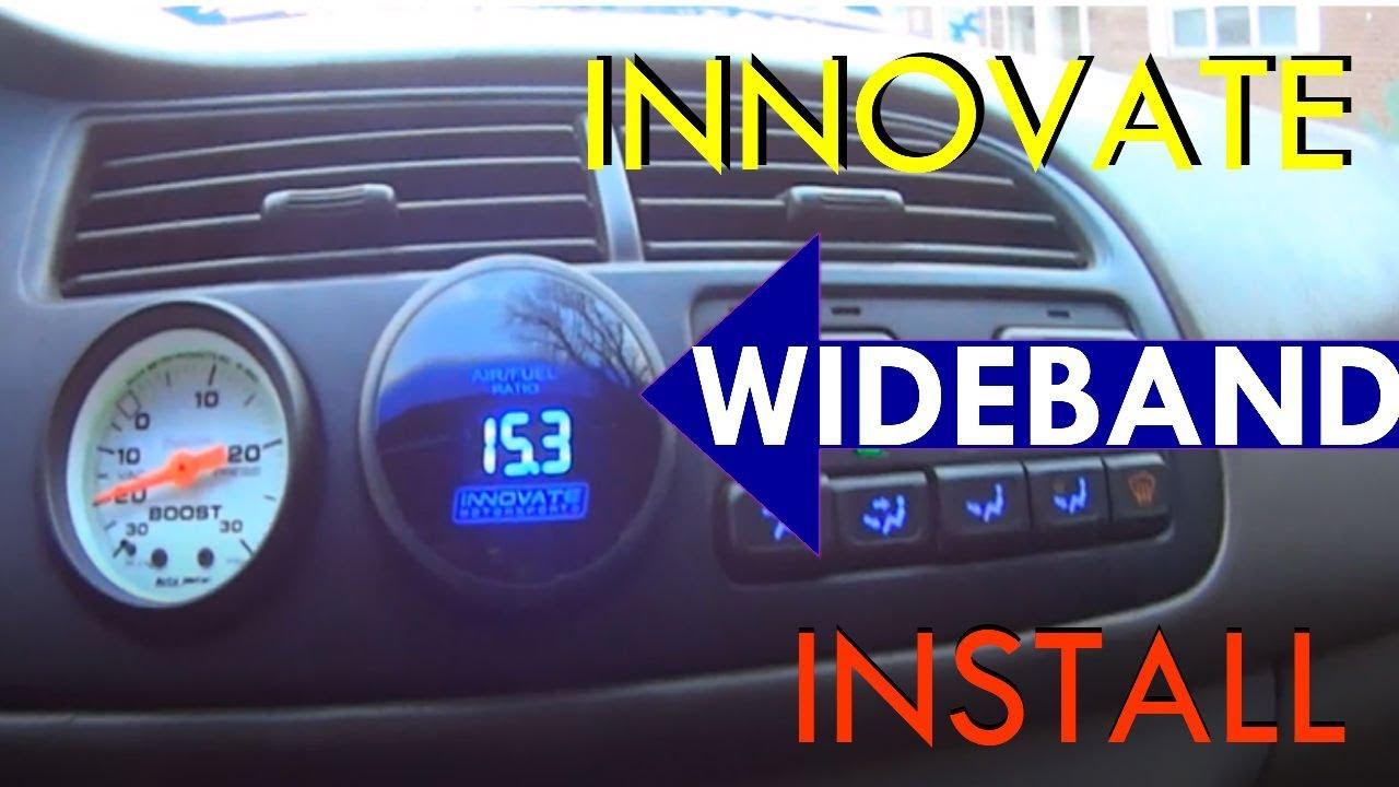 Turbo Honda Accord Innovate Motorsports LC-2 Wideband o2 Install