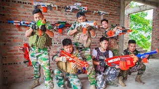 LTT Nerf War : Captain SEAL X Warriors Nerf Guns Fight Criminal Group Police Patrol
