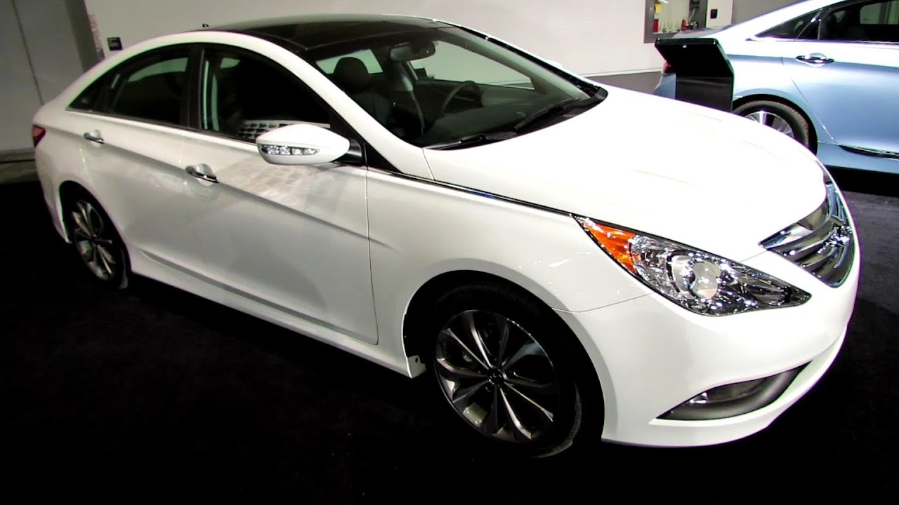 2014 Hyundai Sonata Limited 2.0T Ultimate Package Exterior,Interior  Walkaround 2014 Ottawa Auto Show   YouTube
