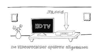 Opnemen, pauzeren en terugspoelen met de HUMAX 5200C en 5400C. Animatie!