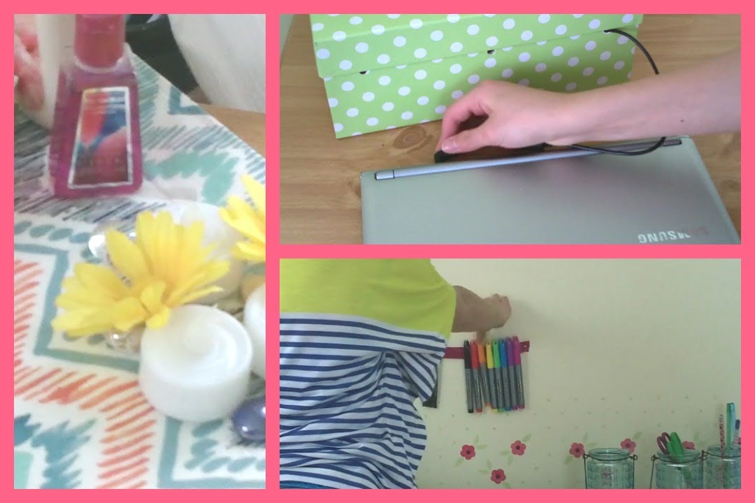 How To Organize Your Room diy organization tips + ideas ~ organize your room! - youtube