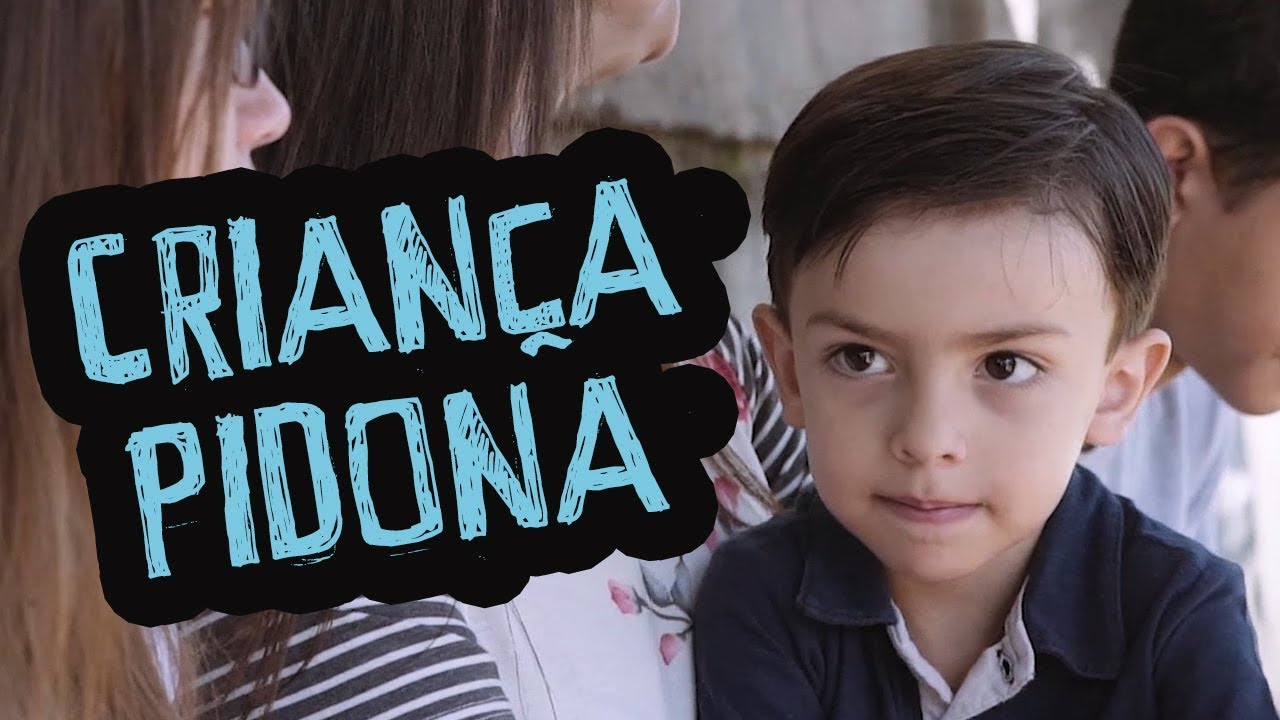 Criança Pidona - DESCONFINADOS (Erros no final)