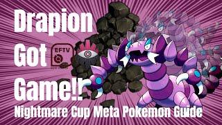 Drapion &amp The Flurry Of Aqua Tail! Nightmare Cup Meta Pokemon Guide With ValorAsh &amp ...