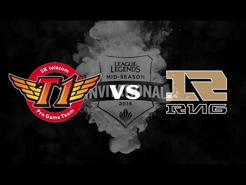 《LOL》2016 MSI 季中邀請賽 小組賽 D3 game1 FW vs RNG