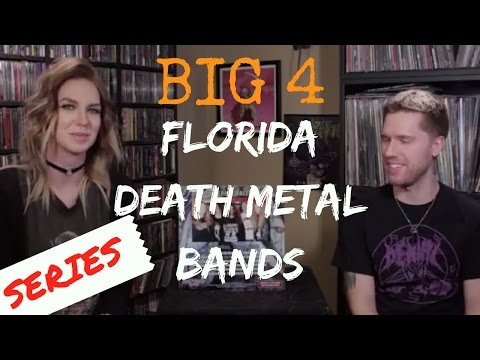 The Big Four Florida Death Metal Bands: Our Picks + Collection