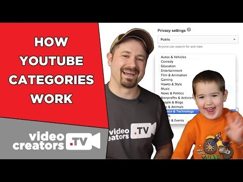 How To Choose the Right YouTube Category for your Video