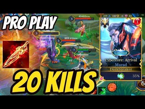 BEST MURAD GAMEPLAY? 20 Kills Solo Carry! | #ArenaofValor #ROV#LiênQuânMobile#펜타스톰