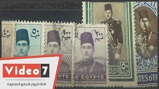 """شاهد طوابع """"هتلر """"والملك فاروق وفؤاد وأسعارها من 5 جنيهات حتى 5 آلاف جنيها"""