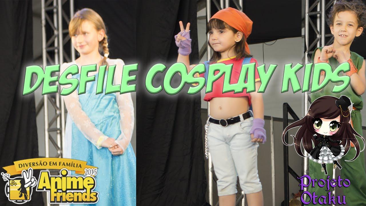 Desfile Cosplay Kids - 18/07/15 [Anime Friends 2015]