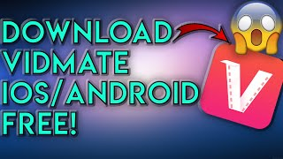 How To Download Vidmate Android/iOS 🔥 Vidmate APK Download FREE