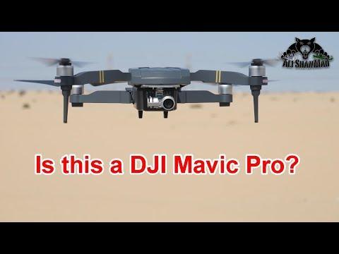 DJI Mavic Pro Clone CFly Obtain 3 axis gimbal 1080P HD Camera