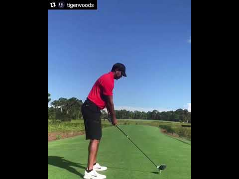 Tiger Woods latest swing - Driver
