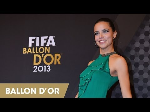 Red Carpet Highlights: FIFA Ballon D'Or 2013