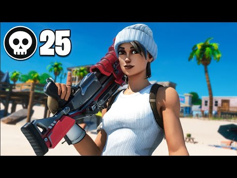 25 Kill Solo Squad | Chapter 2 Fortnite