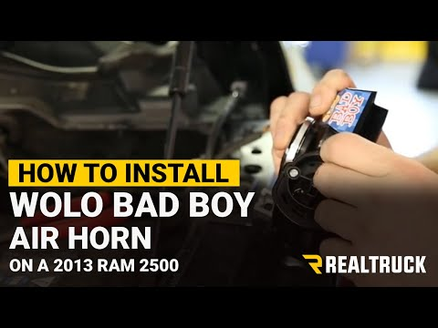 How To Install the Wolo Bad Boy Air Horn