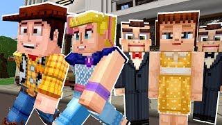 Minecraft Toy Story Can Woody Escape Gabby Gabby's Love Potion?! [13]