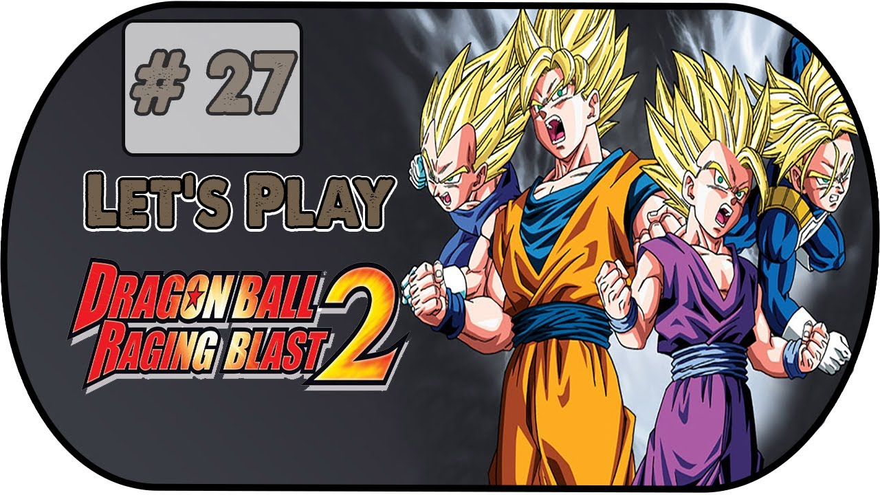 Dragon Ball Raging Blast 2 Let S Play 27 Mode Galaxie Trunks