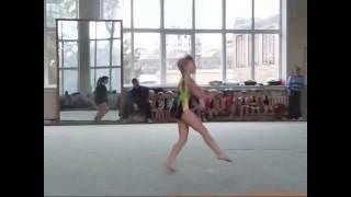 Спортивная гимнастика (Начало спортивной карьеры) дети 2011
