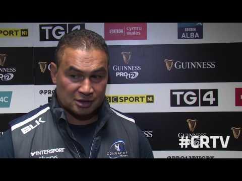Connacht V Glasgow - Pat Lam Interview