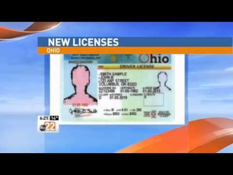 Ohio Changing Up Look of Driver's License