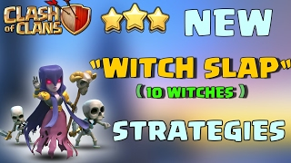 WITCH SLAP | DEDUCE WITCH WALK MAXX TH9 3 STAR | STRONGEST STRATEGY | CLASH OF CLANS | REPLAYS |