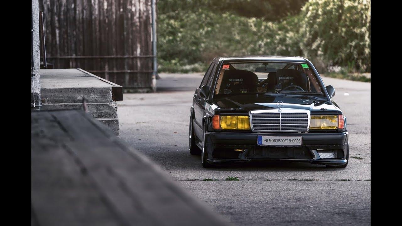 Mercedes-Benz W201 16V 190E Turbo Bilster Berg Onboard 20 08 2015 1JZ  Engine Der Motorsport Shop