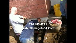 Buena Park CA Water Damage Repair 714-485-4211 Cleanup Services