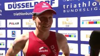 Deutsche  Meisterschaften Triathlon 2018 - Lasse Lührs im Interview