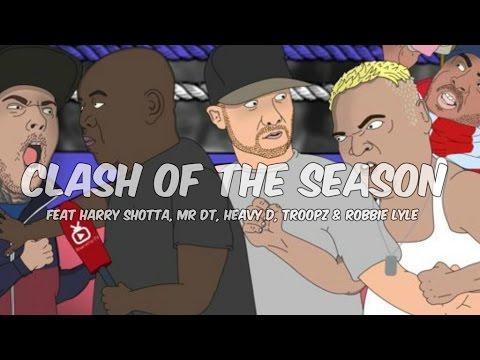 """CLASH OF THE SEASON!!!"" | DT vs Heavy D (Ft Harry Shotta & Troopz)"