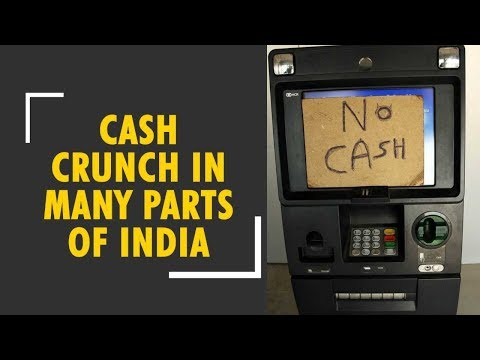 Cash crunch in many parts of India as ATMs run dry; government says solution in 3 days