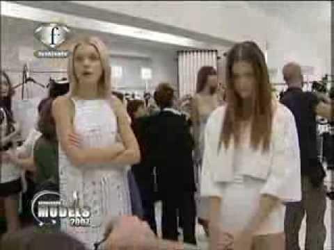Models Talk Spring Summer 2007  Jessica Stam.flv
